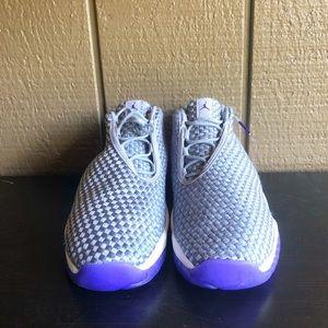 fd539afa9fdf17 Nike Shoes - Air Jordan Girls Future Low GG Wolf Grey Purple